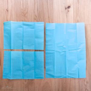 Seidenpapier-Pompon