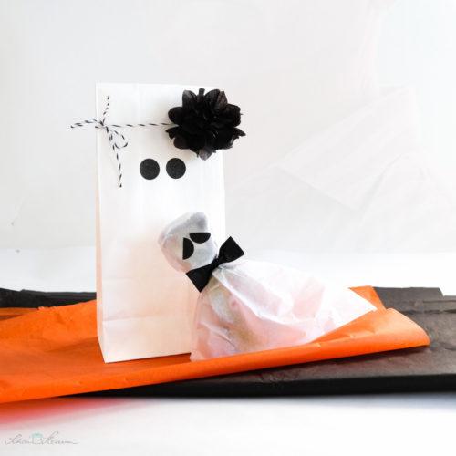 Gespenst Halloween Verpackung Geschenktüte
