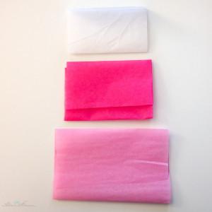 Seidenpapierschleife Schoenherum