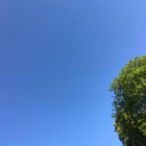 Blauer Himmel Schoenherum