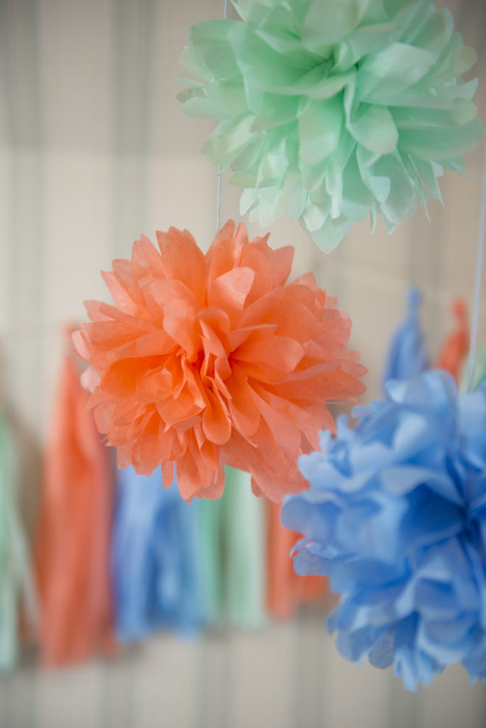 DIY - Pompon und Quasten aus Seidenpapier