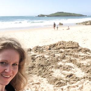 Schönherum am Strand