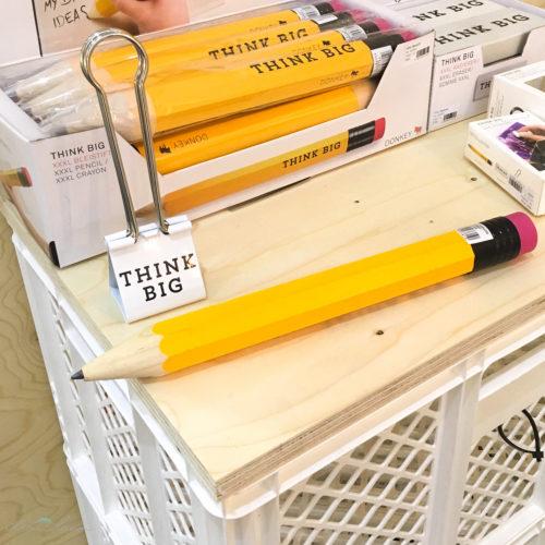 Think big Bleistift