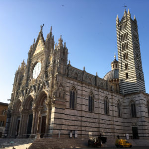Der Dom von Siena. Unterwegs mit SchönHerum.