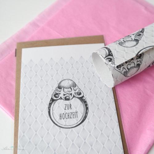 Geschenkverpackung für Geld - Schönherum