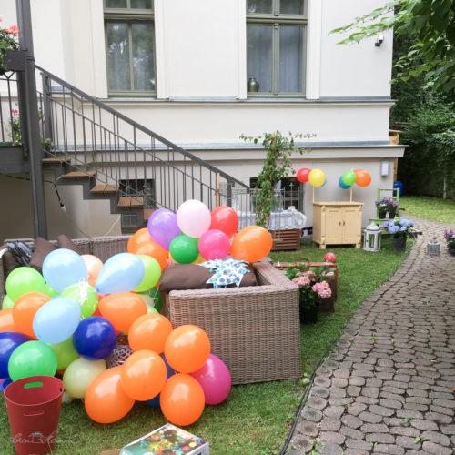 Gartenfest zum Schulanfang