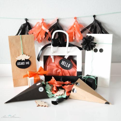 Halloween Inspiration, Dekoration, Geschenkverpackungen