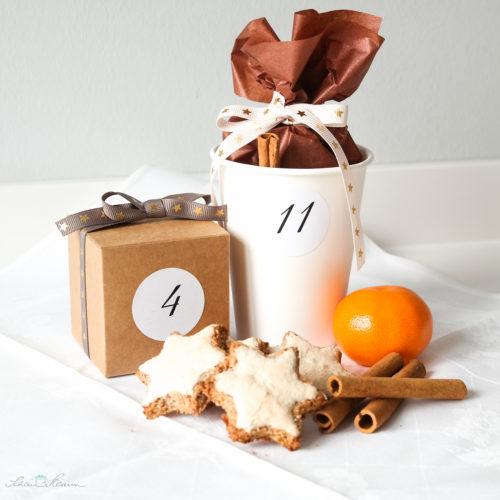 Geschenkverpackung für selbst Gebackenes