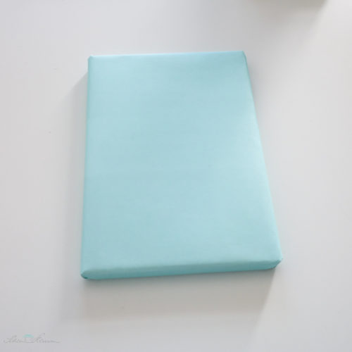 Geschenkverpackung einfarbig mintgrün