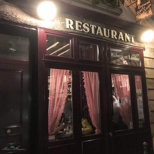 Restaurant Robert & Louise, Paris