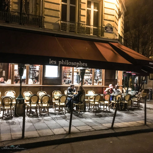 "Restaurant ""les philosophes"" Paris"