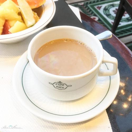 Cafe de la paix, Cafe au lait, Paris
