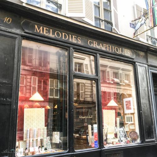 """""""Melodies Graphiques"""", Paris"""