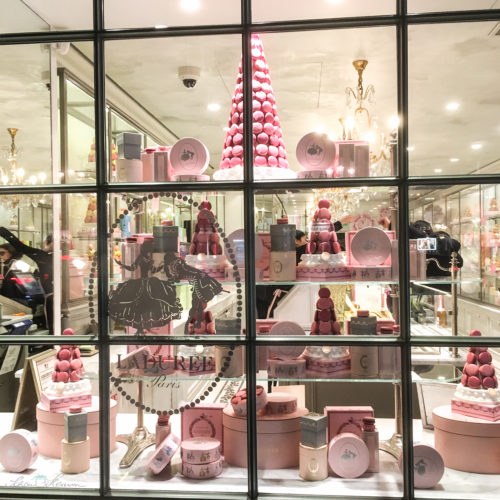Schaufenster Laduree Paris