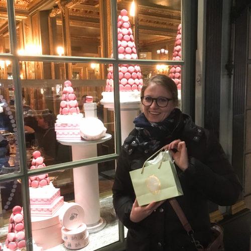 Schaufenster Laduree Paris