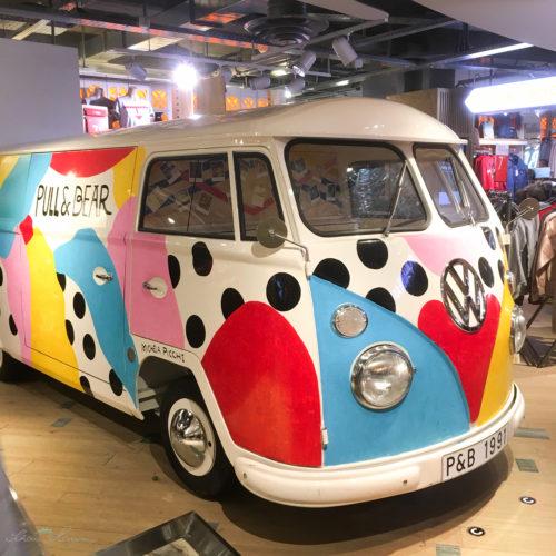 VW Bus, Dekoration im Citadium