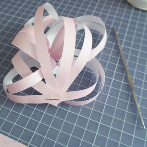Papierlöckchen, Papierstreifen