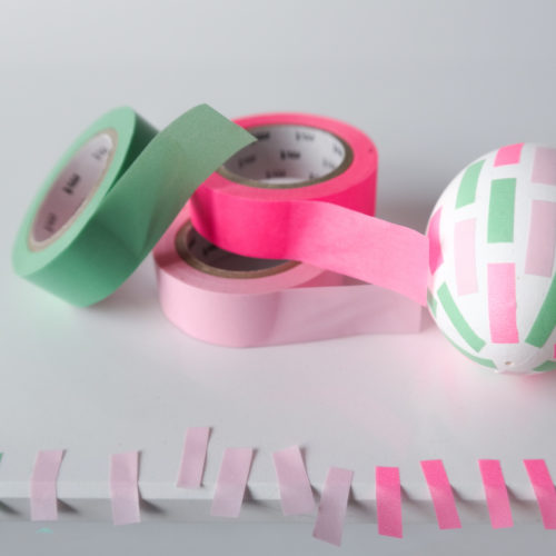 Masking Tape grün, pink, rosa