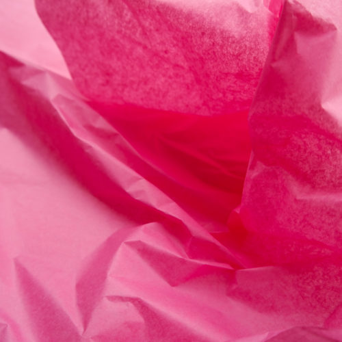 Seidenpapier Flamingopink