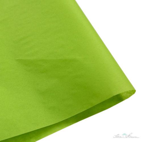 Seidenpapier Limettengrün