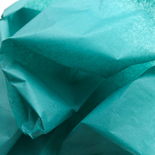 Seidenpapier smaragdgrün
