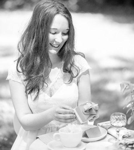 Braut, natürlich schön