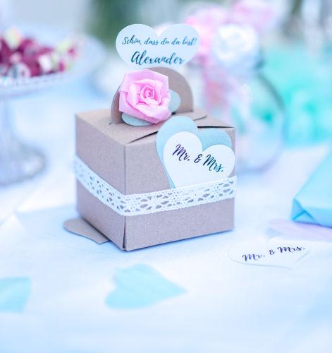 Gastgeschenk zur Hochzeit