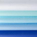 Seidenpapier-Set BLAU